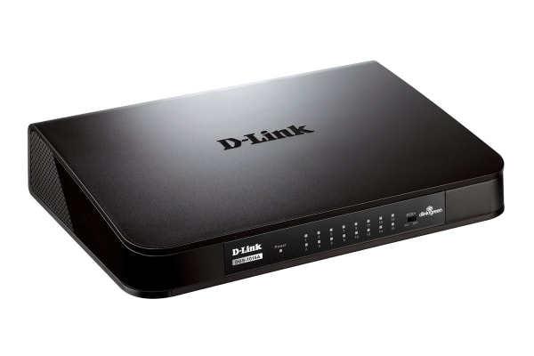 D-Link 16-Port Gigabit Desktop Switch (DGS-1016A)