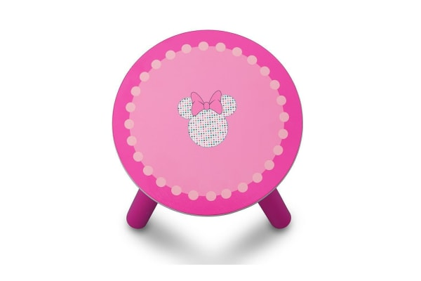 Delta Children Minnie Mouse Activity Centre Easel Desk with Stool & Toy Organiser