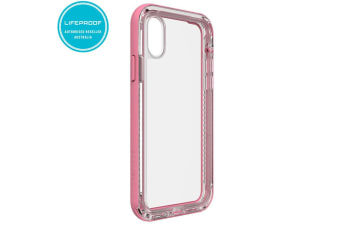 Lifeproof Next Pink/Clear Case/Rugged Cover Drop/Dirt/Snow Proof for iPhone X