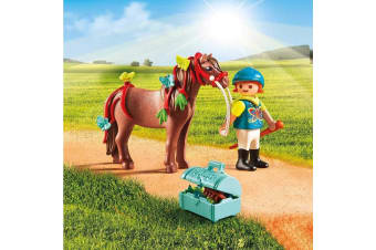 Playmobil Country Groomer with Butterfly Pony