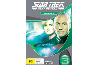 Star Trek the Next Generation The Complete Season 3 DVD Region 4