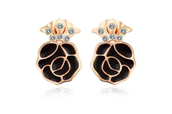 Rosie Stud Earrings Embellished with Swarovski crystals