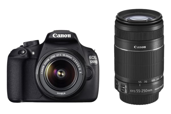 Canon EOS 1300D 18-55mm & 55-250mm Twin Lens Kit