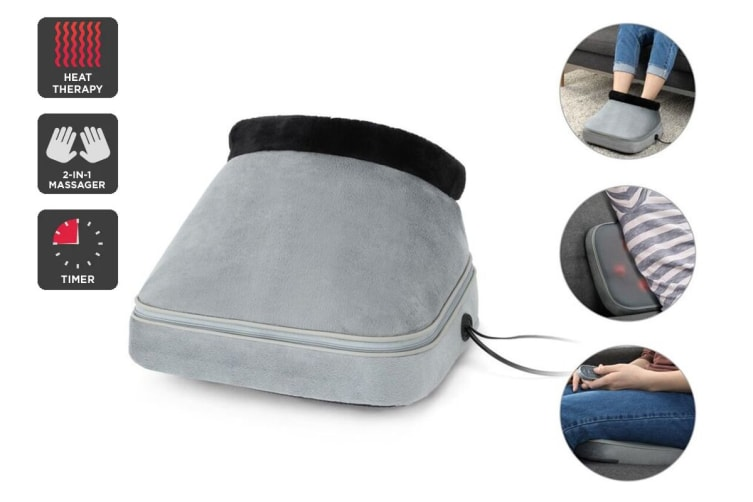 Kogan Heated 2-in-1 Shiatsu Foot And Back Massager
