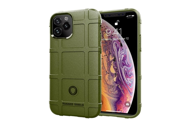 For iPhone 11 Case  Protective Shockproof Robust TPU Cover  Army Green
