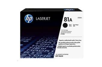 HP TONER 81A BLACK