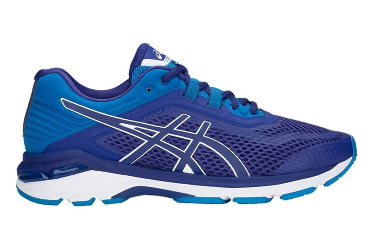 ASICS Men's GT-2000 6 Running Shoe (Blue Print/Race Blue, Size 8)