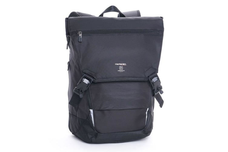 Hedgren Link Joint Black Backpack/Laptop Carry Bag w/ Adjustable Shoulder Straps