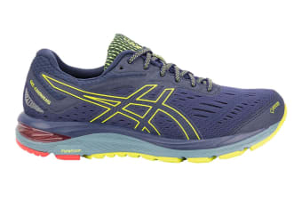 ASICS Men's Gel-Cumulus 20 G-TX Running Shoe (Peacoat/Lime, Size 10.5)