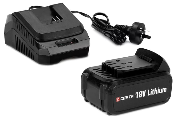 Certa PowerPlus 18V 4.0Ah Charger Combo
