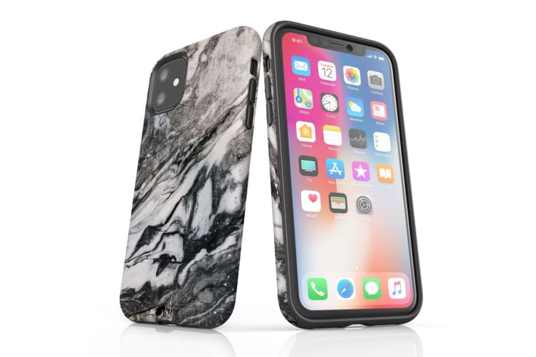 For iPhone 11 Shielding Back Case  Retro Marble