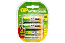 Gp Aa & Aaa Rechargeable