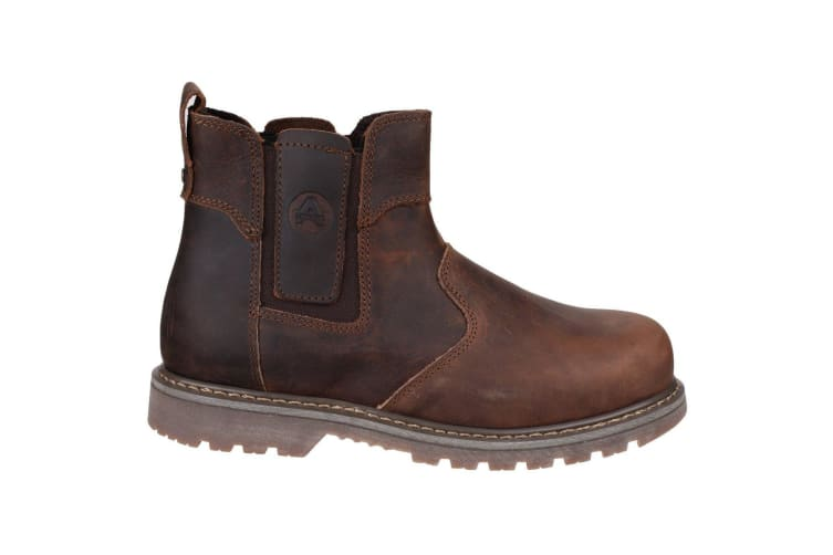 Amblers Steel FS165 Safety Boot / Womens Ladies Boots / Dealers Safety (Brown) (13 UK)