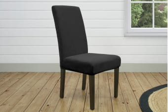 Admirable Reviews Of Surefit Pearson Dining Chair Cover Ebony Itf Short Links Chair Design For Home Short Linksinfo