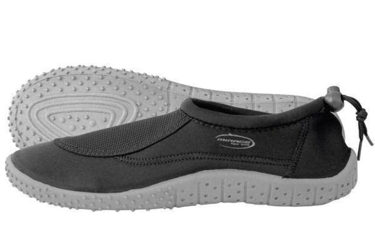 Mirage Adult Aqua Shoe 5-6 Black/Grey