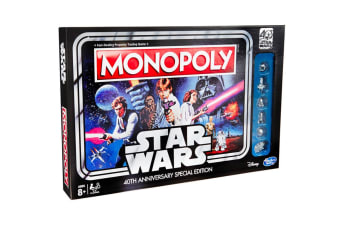 Star Wars Monopoly 40th Anniversary