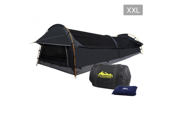 XXL Deluxe King Single  Extra Large Swag (Grey)