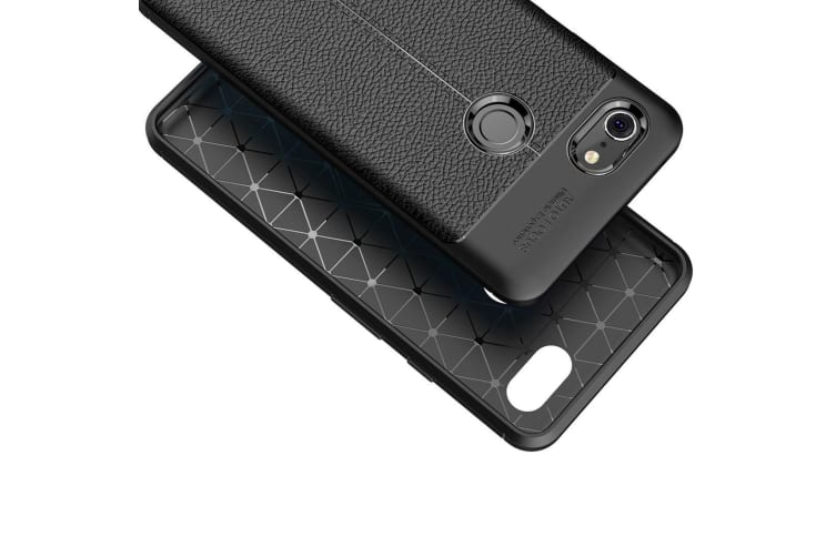 For Google Pixel 3 XL Back Case Black TPU Shockproof Cover Heat Dissipation