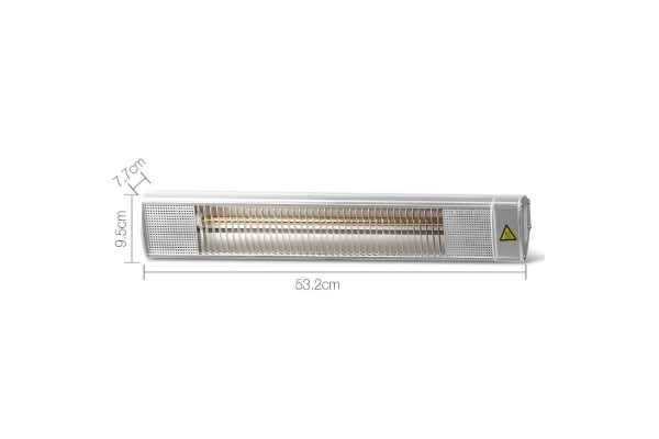 1080W ELectric Infrared Strip Patio Heater