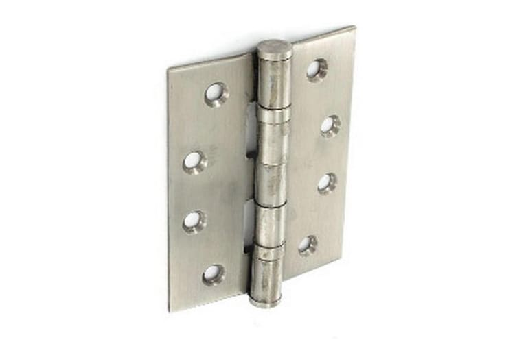 Securit Ball Bearing Hinges (Silver) (One Size)