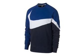 Nike Sportswear Men's Crew (Obsidian/White/Game Royal)