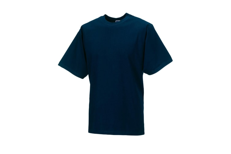 Jerzees Colours Mens Classic Short Sleeve T-Shirt (French Navy) (XL)