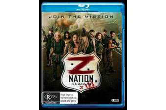 Z NATION SERIES 1 & 2 BLU RAY, 5-Disc Set NEW SEALED