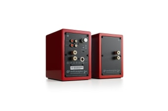 Audioengine A2+ Wireless Desktop Speakers - Gloss Red