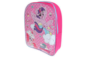 My Little Pony Childrens/Kids Rucksack (Lilac/Fuchsia) (One Size)