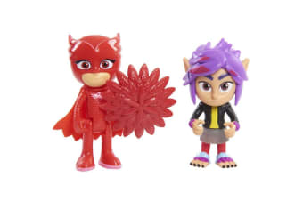 PJ Masks Hero vs Villains - Owlette and Wolfie Rip