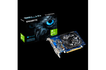 Gigabyte nVidia GeForce GT 730 2GB DDR3 Ultra Durable PCIe Video Card 4K HDMI DVI VGA 3xDisplays Fan 902Mhz