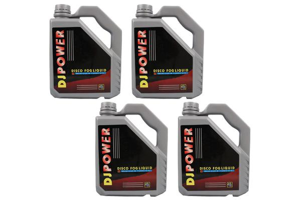 4 X 4.5L Fog Juice Liquid Fog Machine Smoke Fluid Liquid [4 Pack]
