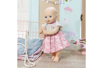 Baby Annabell Clothing Day Dress - Rose