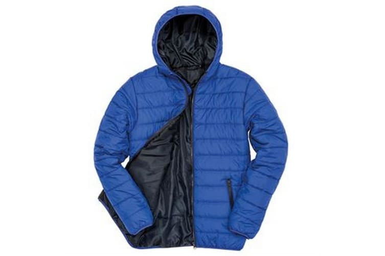 Result Core Mens Soft Padded Jacket (Royal/Navy) (2XL UK)