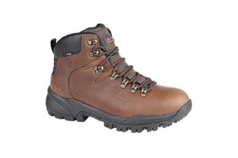 Johnscliffe Boys Canyon Leather Superlight Hiking Boots (Conker Brown)
