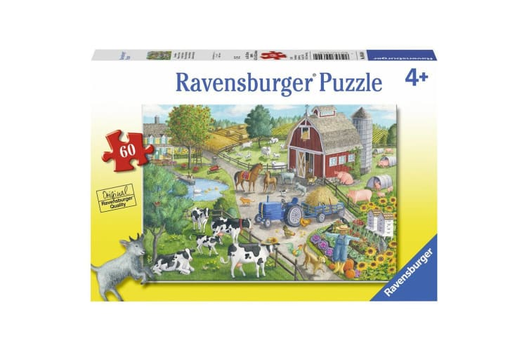 Ravensburger Jigsaw Puzzle Home on the Range - 60 Piece