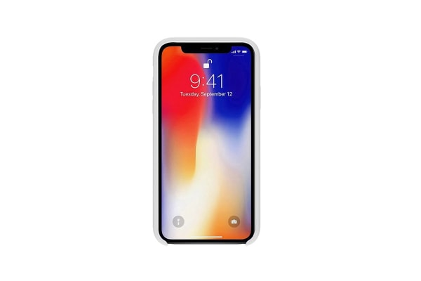 iPhone XR Silicone Case - White