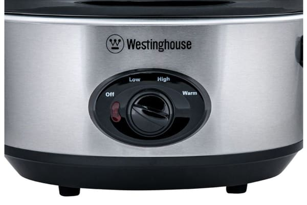 Westinghouse 3.5L Slow Cooker - Stainless Steel