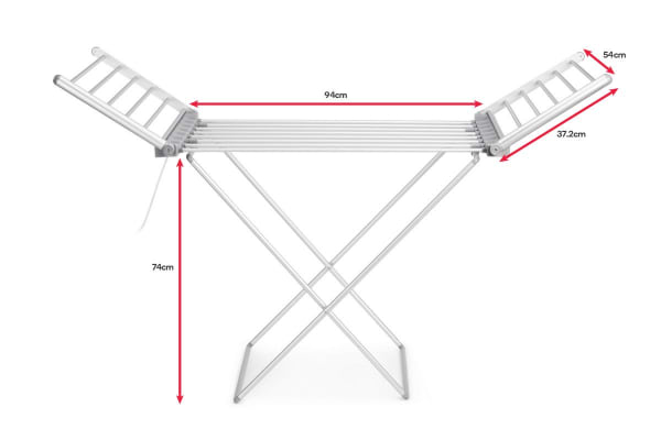 Kromo Heated Drying Rack
