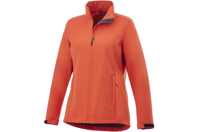 Elevate Womens/Ladies Maxson Softshell Jacket (Orange) (M)