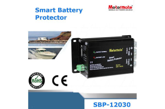 Motormate 12V 30A Max  smart battery protector  Protects against low voltage and overload