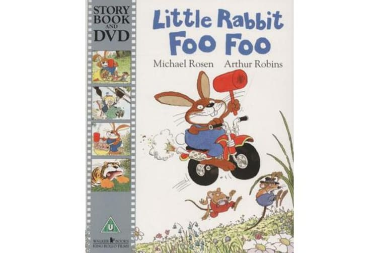 Time for a Story - Little Rabbit Foo Foo Book & DVD