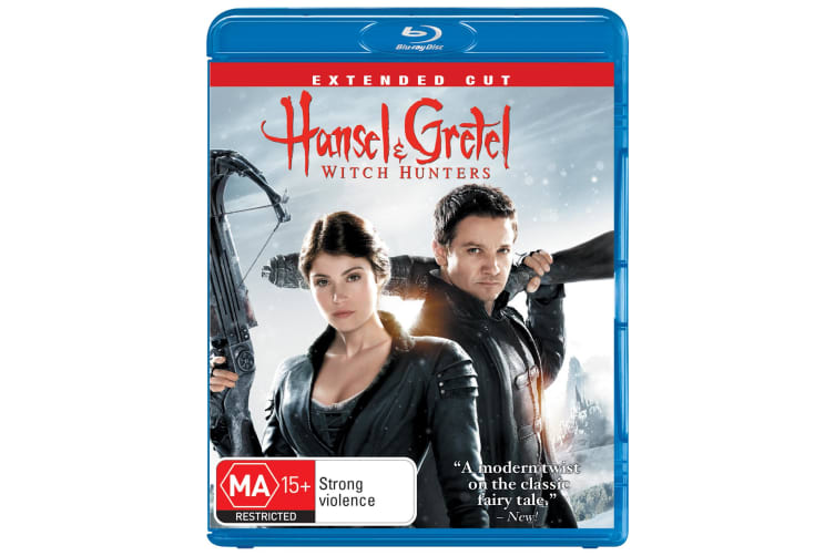 Hansel and Gretel Witch Hunters Extended Cut Blu-ray Region B