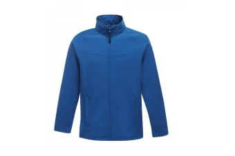 Regatta Mens Uproar Lightweight Wind Resistant Softshell Jacket (Oxford) (2XL)