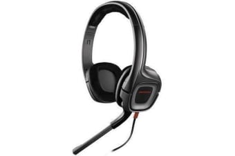 Plantronics GameCom 308 PC Gaming Headset - Upgrade your audio and comfort for games and chat on