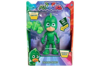PJ Masks Deluxe Talking Gecko Figure with Jetpack
