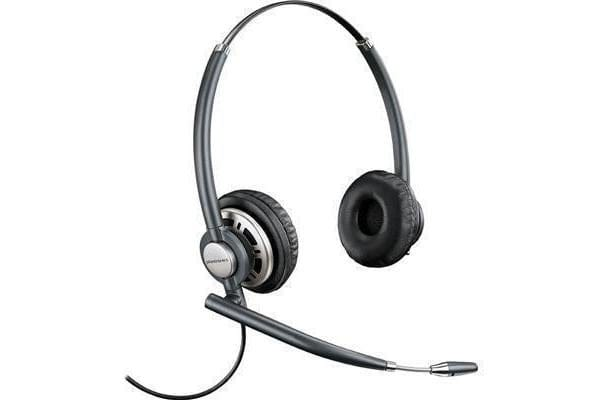 Plantronics EncorePro HW720 Binaural Wired Headset with Noise-Cancelling
