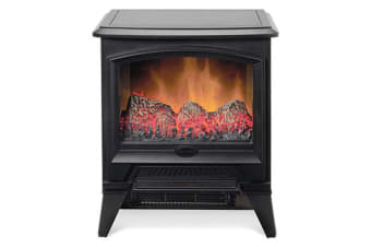Dimplex Casper 2000W Optiflame LED Electric Fireplace Heater w/ Fire Effect