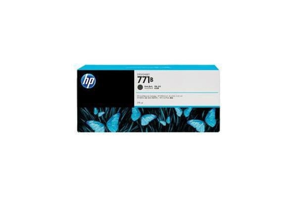 HP 771B 775ml Matte Black Ink Cart B6X99A