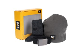 Caterpillar Mens Winter Warmer Gift Box (Grey/Black) (One Size)